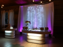 Luces Decorativas para mesa de los Novios