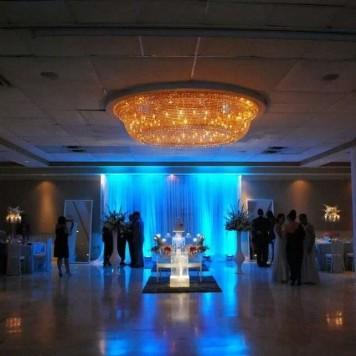 Iluminacion Decorativa Salon Centro De Convenciones los Paseos